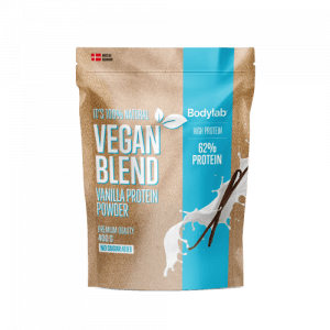 BodyLab Vegan Blend Proteinpulver Vanilje