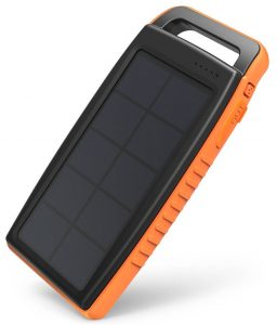 RAVPower Solar 15000 mAh outdoor solcelle powerbank