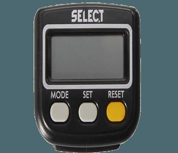 Select, skridttæller