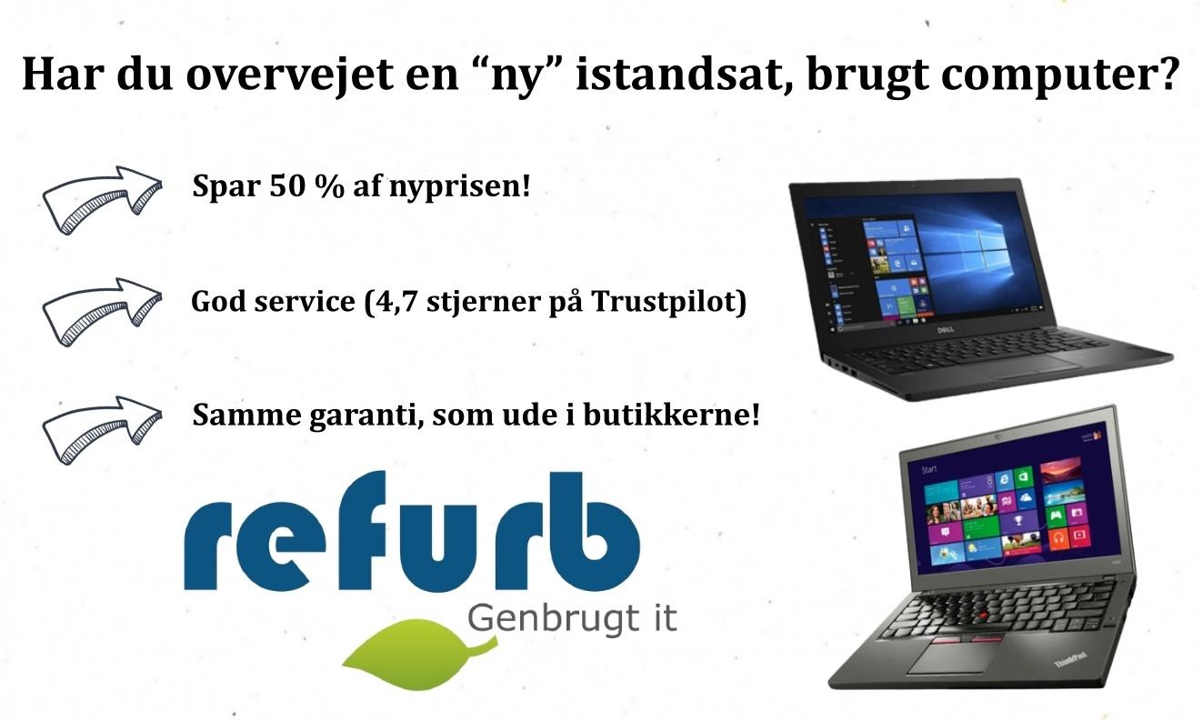 Istandsat brugt computer, Refurb