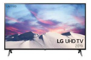 """LG 43"""" UM7100 4K UHD Smart TV 43UM7100 - forbrugerfavorit"""