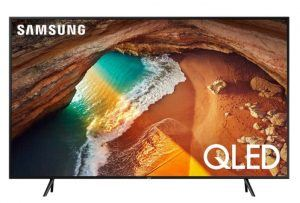 """Samsung 82"""" Q60R 4K UHD QLED Smart TV – Stort tv med høj billedkvalitet"""