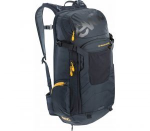 Evoc FR Trail Blackline - two-in-one backpack with back shield