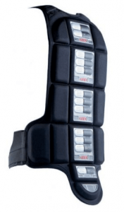 Knox Compact back shield - fits in the most exposed areas of the back