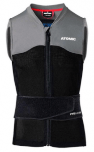 Live Shield Vest Amid - Atomic's most protective back shield