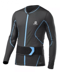 Salomon Secondskin Flexcell - a perfect back shield for him