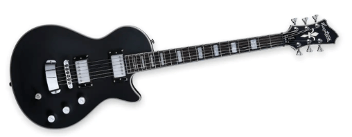 Hagström Ultra Max Satin Black - en professionel guitar til en god pris