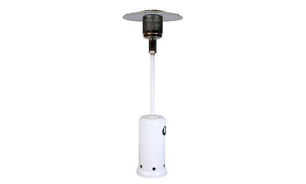 Classic Hvid gas terrassevarmer