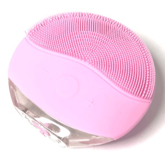 Ultrasonic Facial Cleaner Pink - Suitable for sensitive skin