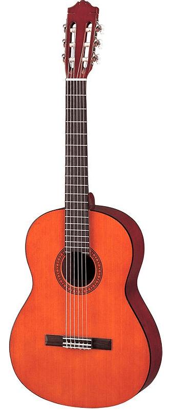 Yamaha CS40 spansk børne-guitar natur - god kvalitet til fornuftige penge