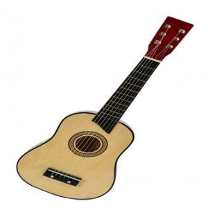 My Music World - Wooden Guitar