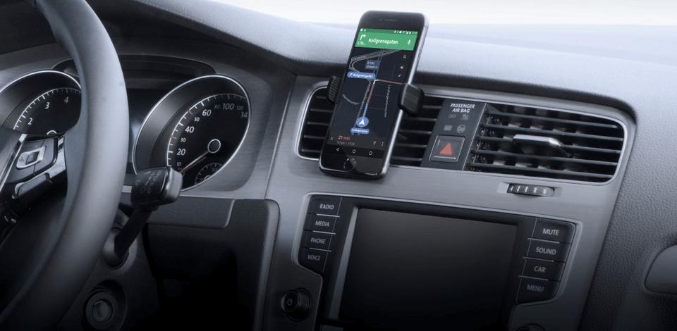 mobilholder til bilen