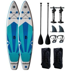 CoolSurf 2 x Stormy Kite Paddleboard oppustelig SUP 10'4