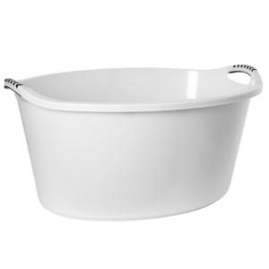 Traditionelt Oval badekar 90 Liter