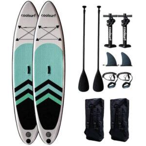 CoolSurf 2 x SAIL Kite Paddleboard - Oppustelig SUP 10'4