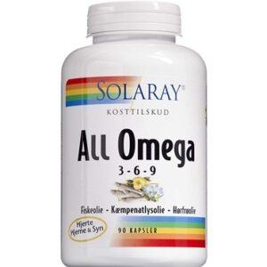 Solaray All Omega 3-6-9 - Med fiske