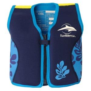 Konfidence Original til børn svømmevest med justerbar opdrift