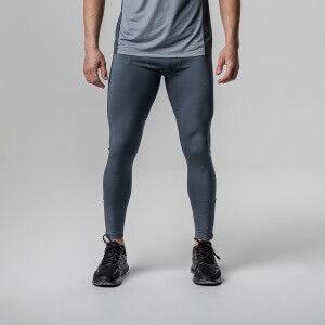 Rockay Men's Tights Dolphin Blue – anti-odør løbebukser