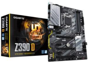 GIGABYTE Z390 D – Det budgetvenlige valg