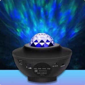 Rohs Stjerne projektor med Bluetooth