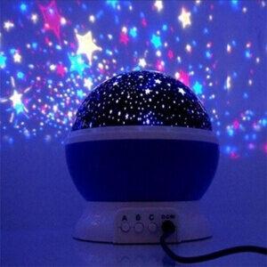 Santana Natlampe med stjernehimmel