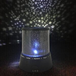 Satana LED natlampe med Stjernehimmel