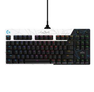 Logitech G Pro Mechanical Gaming Keyboard-LOL-Without numpad-Black